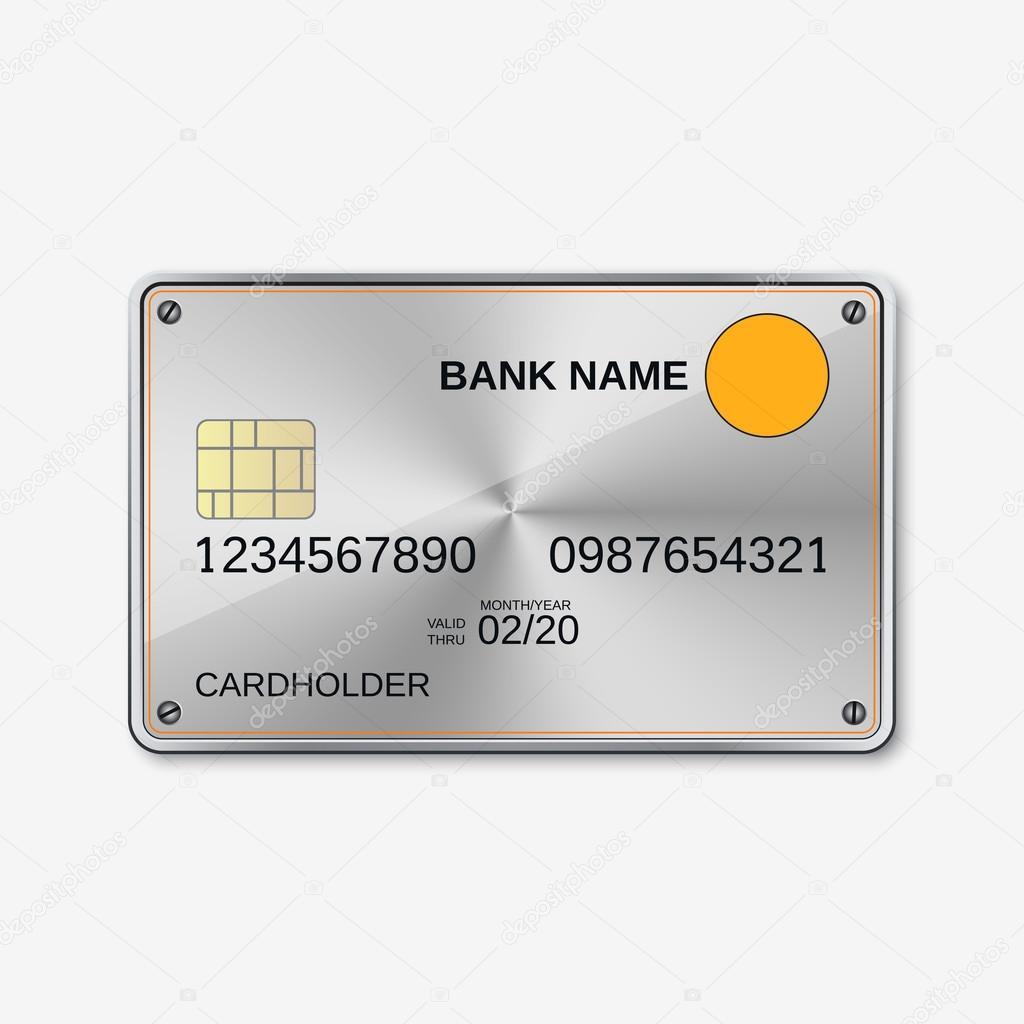Bank-Karte, Kreditkarte, Rabatt-Karte — Stockvektor © Ulvur #94990292