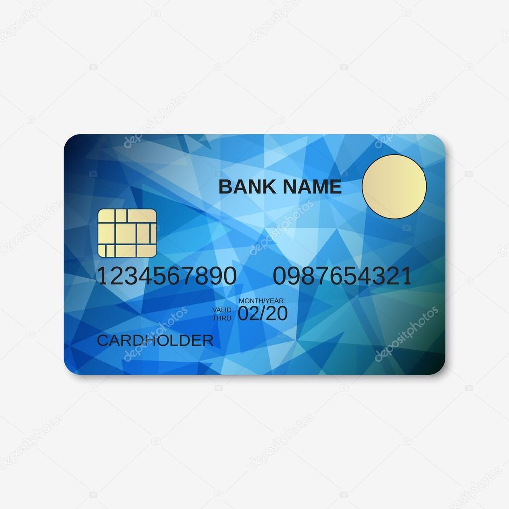 Bank-Karte, Kreditkarte, Rabatt-Karte — Stockvektor © Ulvur #96452968