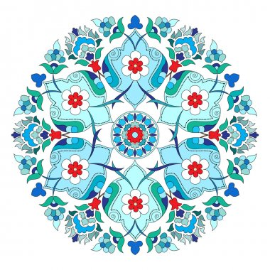 artistic ottoman pattern series twelve