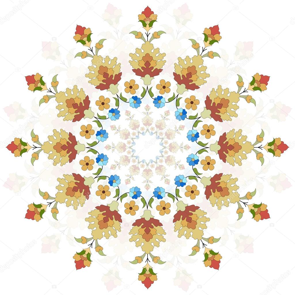 Artistic ottoman pattern series twenty two