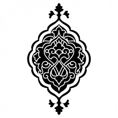 artistic ottoman pattern series sixty eight