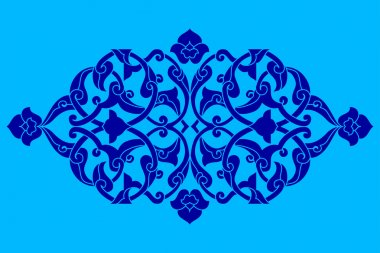 artistic ottoman pattern series fifty eight