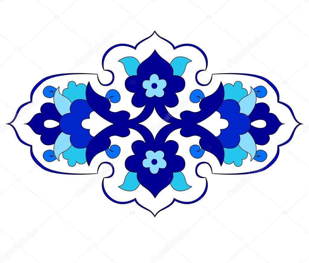 Artistic ottoman pattern series eighty
