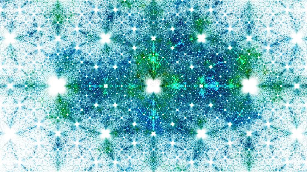 Exotic Patterns Format Widescreen Monitors Fractal Wallpaper Your Desktop Digital Fotografia De Stock