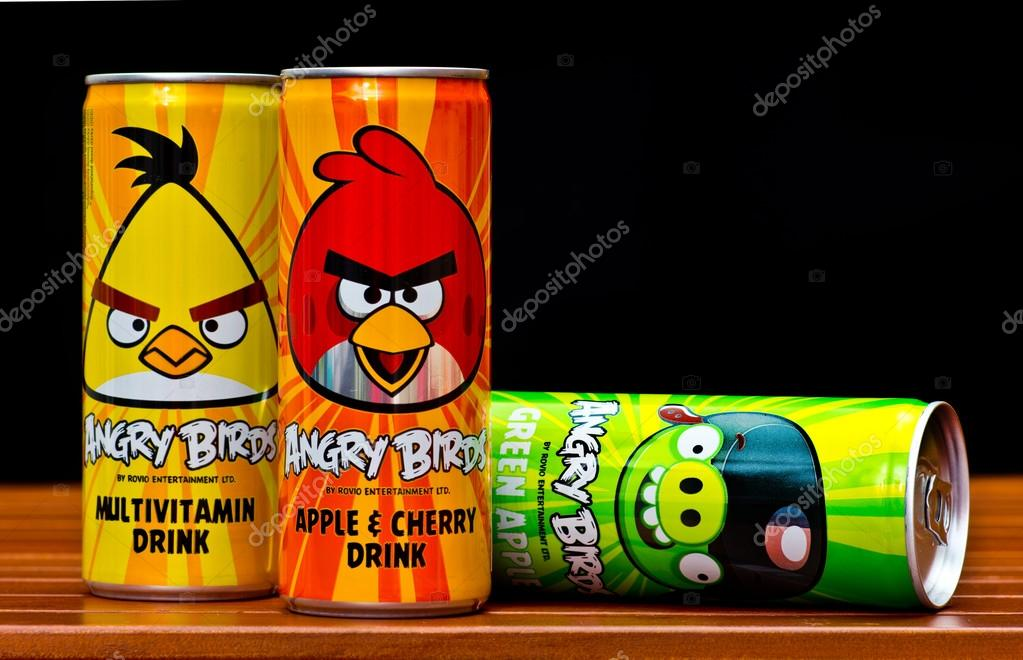 Angry birds drinks