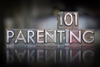 Parenting 101 Letterpress