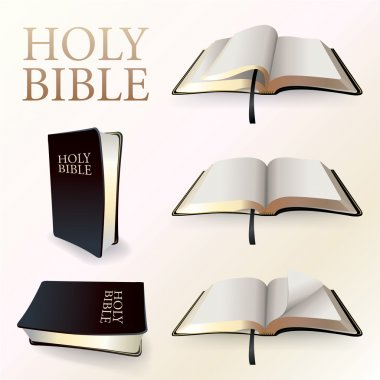 Illustration of Holy Bible