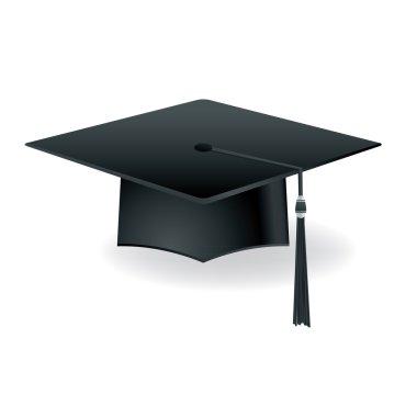 Graduation Cap Mortar Board Isolated Illustration