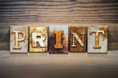 Print Concept Letterpress Theme