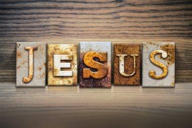 Jesus Concept Letterpress Theme