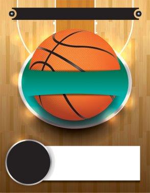 Vector Basketball Tournament Template