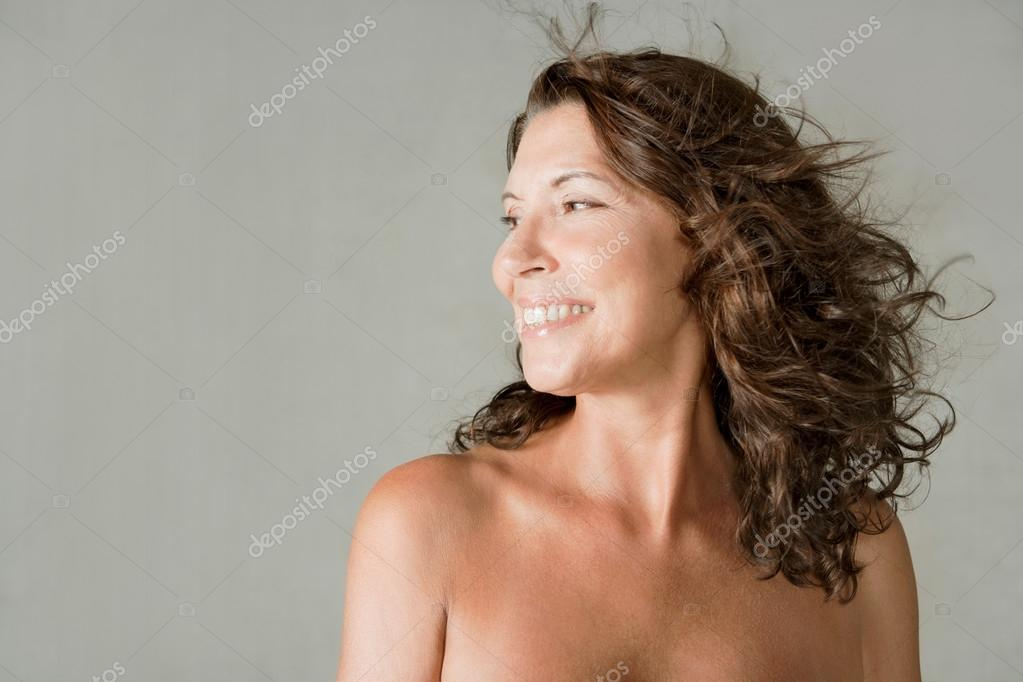 Mature woman nude portrait Portrait Of An Attractive Mature Woman Stock Photo By C Mjth 79455428