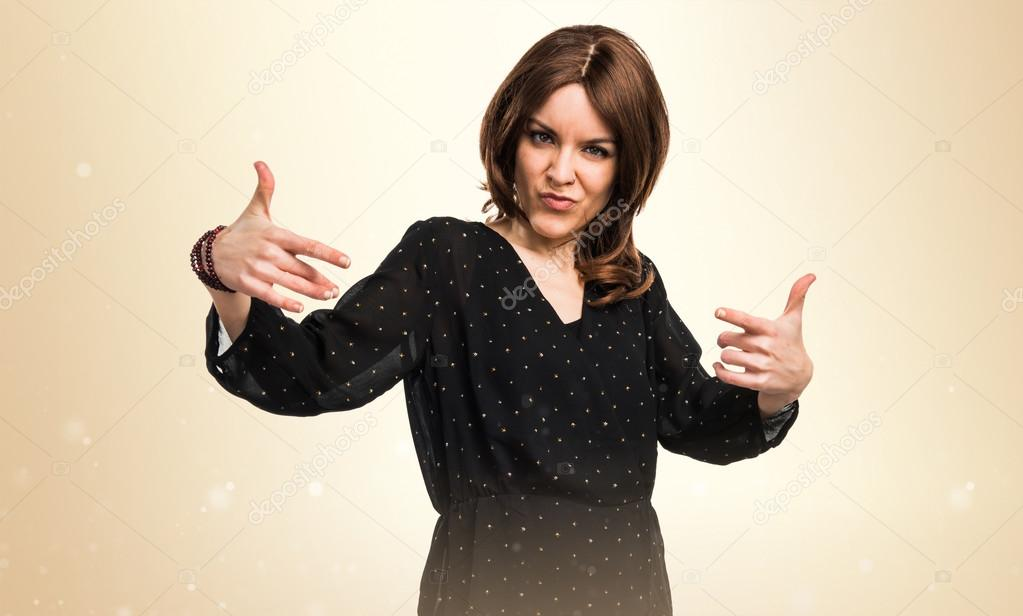Woman Proud Of Herself Stock Photo Luismolinero 105747820