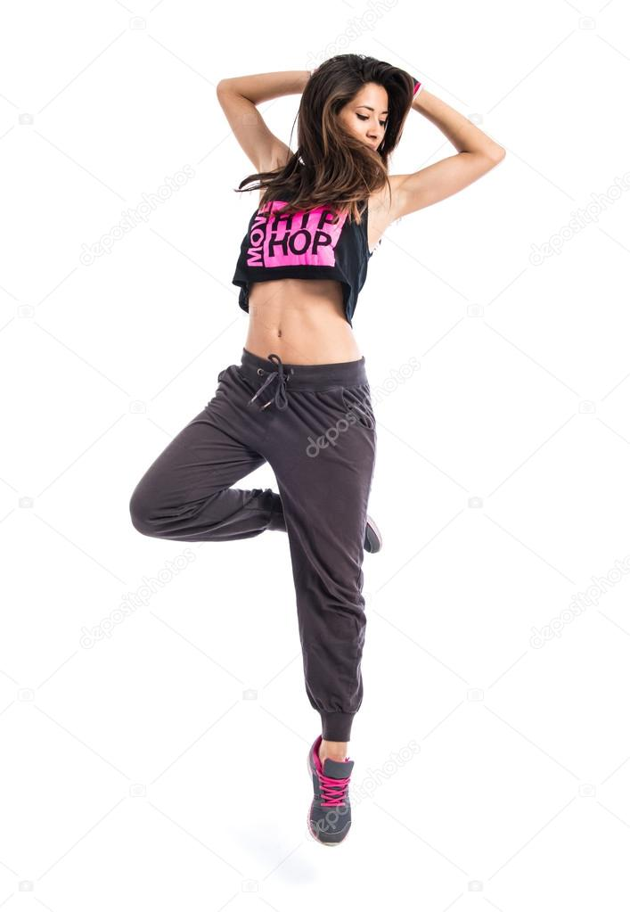 Teenager Girl Dancing Hip Hop Stock Photo C Luismolinero 82412018