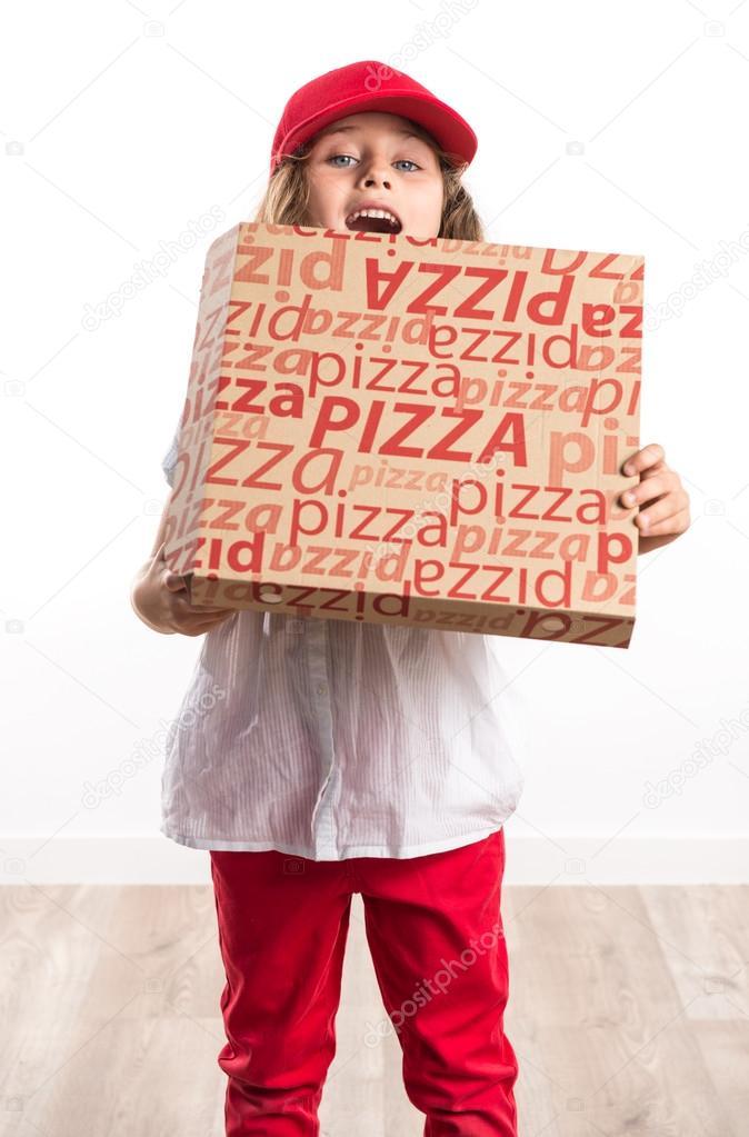 Couple Fucks Pizza Girl