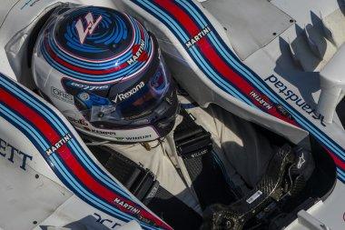 Driver Valtteri Bottas. Team Williams Martini
