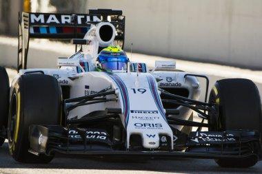Driver Felipe Massa. Team Williams Martini F1
