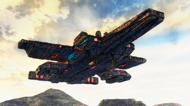 UFO alien contact plane
