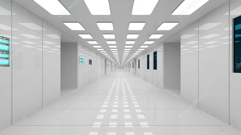 Futuristic Design Spaceship Interior Stock Photo 169 Mik38
