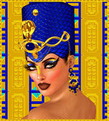 Fotografie Cleopatra oder alle ägyptischen Pharaos Frau Fantasy Art
