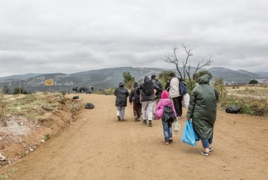 Refugees on the road to European Union