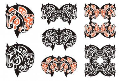 Horse head Haida Style Design
