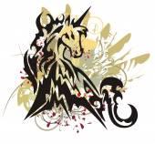 Photo Unicorn splashes