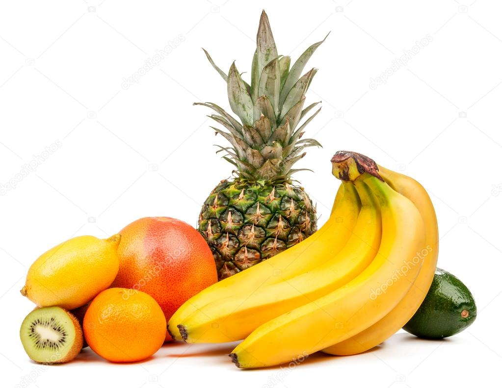 Composition of tropical fruits isolated