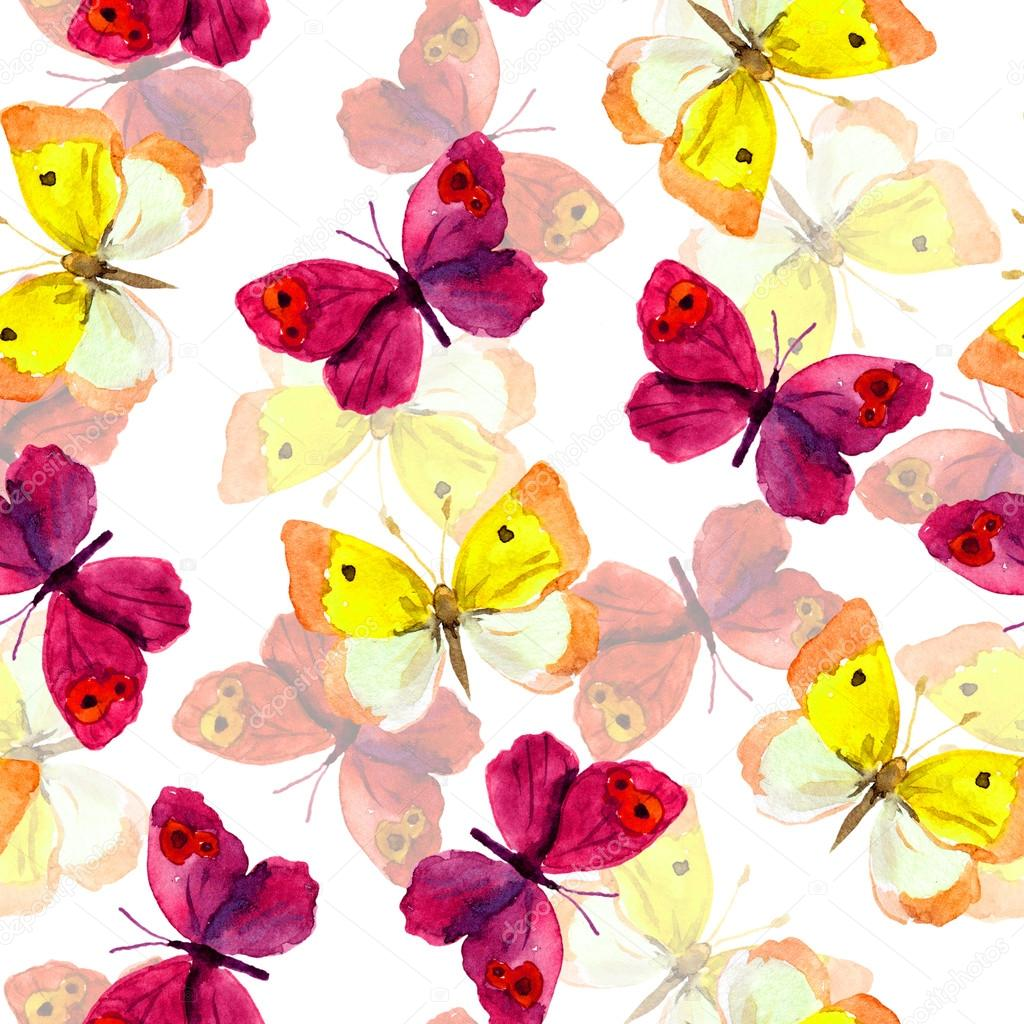 Amazing Wallpaper Butterfly Hand - depositphotos_105051024-stock-photo-seamless-spring-wallpaper-with-colorful  Trends_924751.jpg