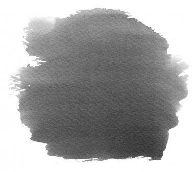 Grey watercolor black background with gray gradient