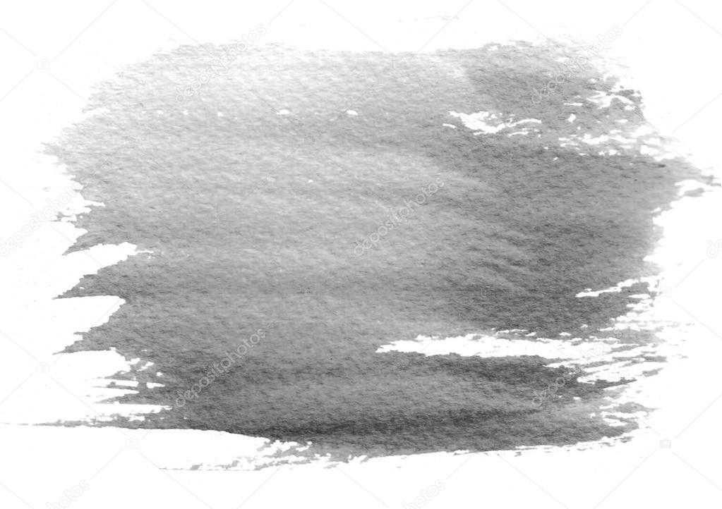 Water Color Black Paint Splatter