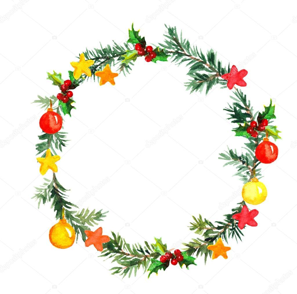 Guirnalda de rbol de navidad con adornos y estrellas for Adornos navidenos 2017 trackid sp 006
