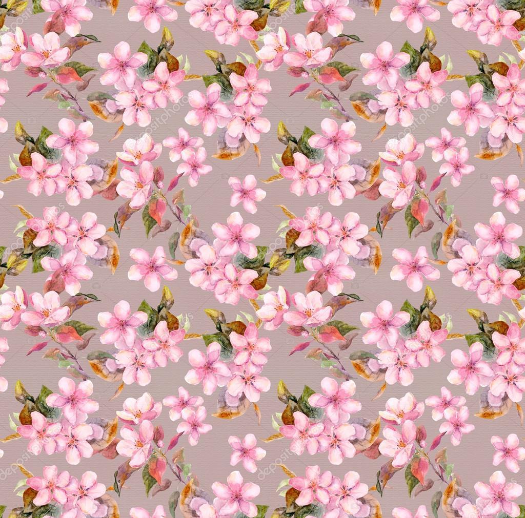 Pictures Sakura Flowers Wallpaper Vintage Pink Apple Cherry