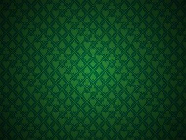 Poker green background
