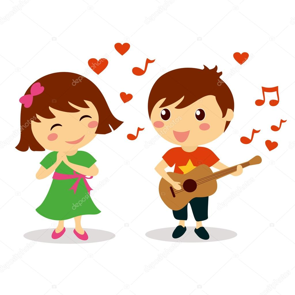 lindo ni o cantando una canci n de amor a la hermosa ni a
