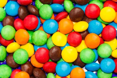 Candy dots background