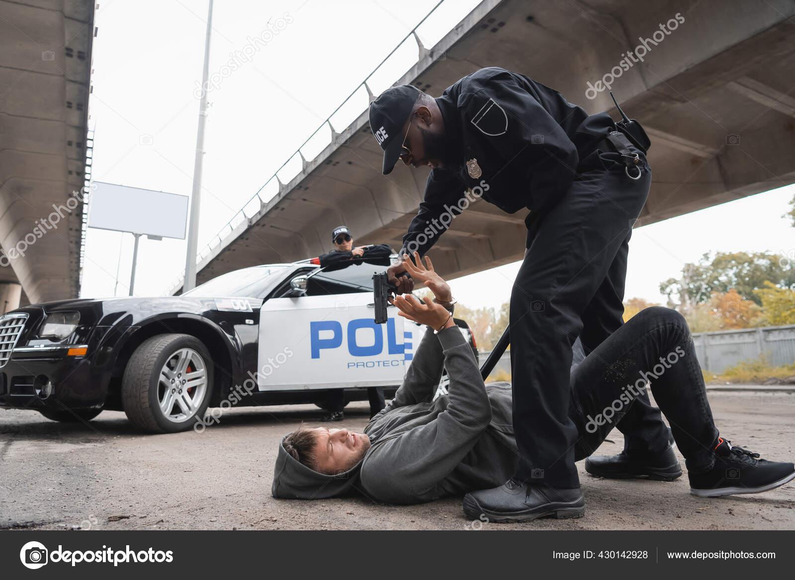 Blonde Polizistin Heiße Nackt
