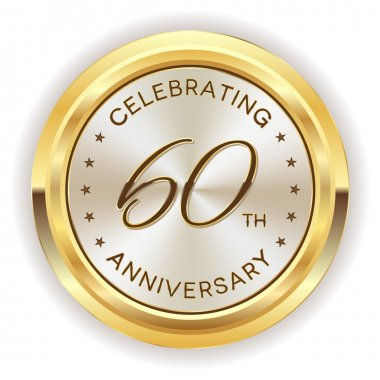60th anniversary badge