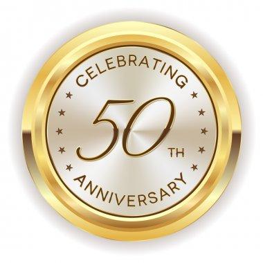 50th anniversary badge