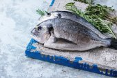 Ryby syrové pražma s bylinkami