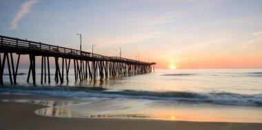 Sunrise off 14th st. Pier 2