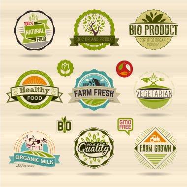 Ecology and Organic Web Icons