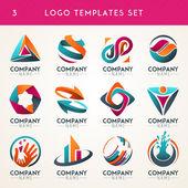 Abstraktní loga, webové ikony, symboly