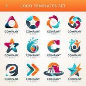 Fotografie Abstraktní loga, webové ikony, symboly