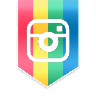 Instagram ribbon