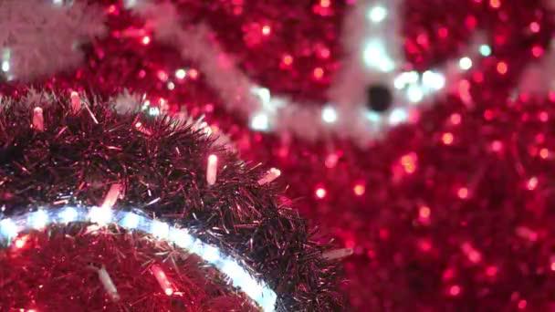 Vánoční stromeček dekorace s blikající barevné hadovité