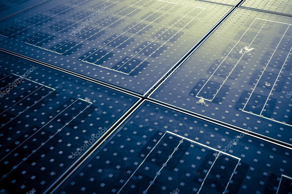 Solar panel abstarct background
