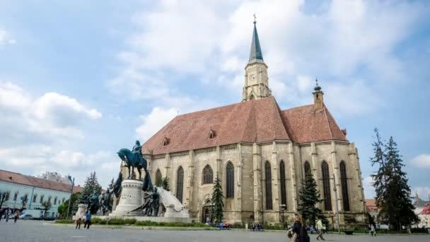 Unirii Square in Cluj-Napoca