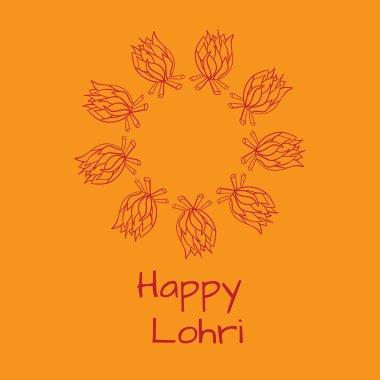 Happy Lohri card