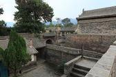 Chrám vesnice Zhangbi Cun v Číně